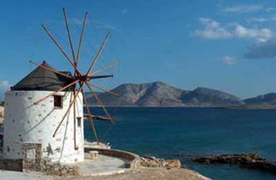 Koufonisia_Windmill_Villa.jpg.Navegando en barco por las islas griegas: Koufounisi