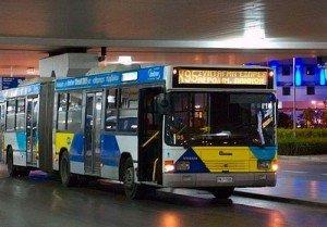 autobus-X93.jpg.Autobuses desde el Aeropuerto de Atenas