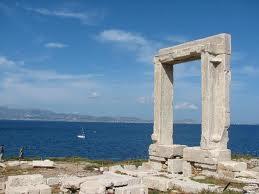 Naxos.jpg.En barco por el Egeo. Isla de Naxos