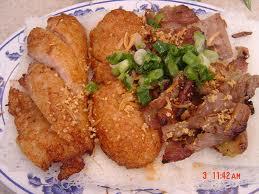 Gastronomía típica del Jónico.