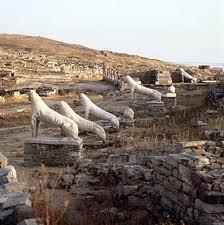 delos.jpg.Navegando por las Cícladas: Isla sagrada de Delos.