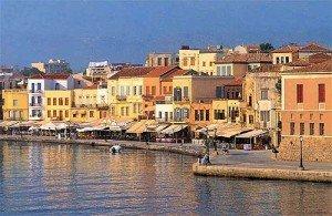 chania.jpg.En barco por las islas griegas. Creta y Haniá.