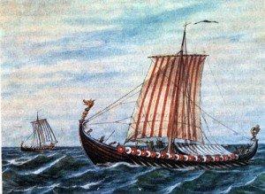 vikingos1-300x219.jpg.Los barcos atraves de la historia. El Drakkar Vikingo