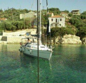 SNC00552.jpg.Navegar en velero por Grecia. El ancla alt=