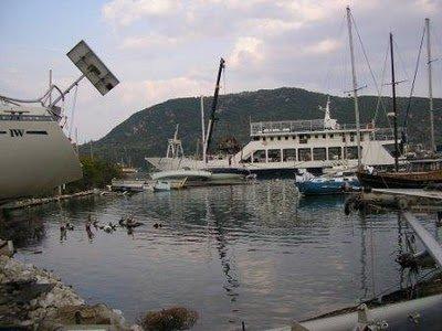 P1010328vliho3.jpg.Mi pequeña regata del Egeo hasta el Jónico. El varadero